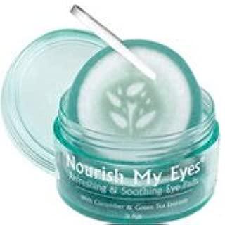 Fran Wilson Nourish My Eyes Cucumber Eye Pads 36 ea (Pack of 6)
