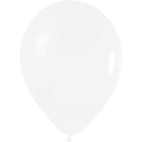 25 x 10 inch Latex White Wedding Balloons