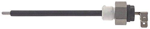 MKN Niveauelektrode voor ketel voeler 102 mm voeler geïsoleerd 95 mm 1/4 inch lengte 132 mm ø 3 mm aansluiting F6,3 bevestiging 1/4 inch