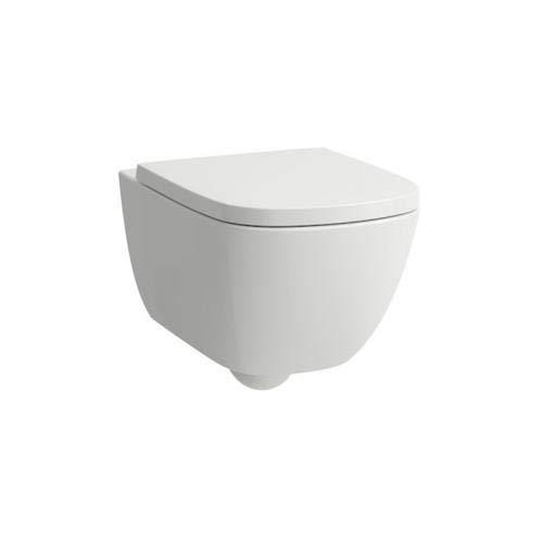 Laufen Palomba Wand-WC Tiefspüler, spülrandlos, Farbe: Weiß