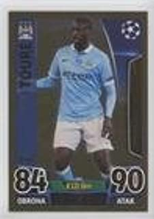 Yaya Toure (Trading Card) 2015-16 Topps Match Attax UEFA Champions League - [Base] - Limited Edition Gold #LE4