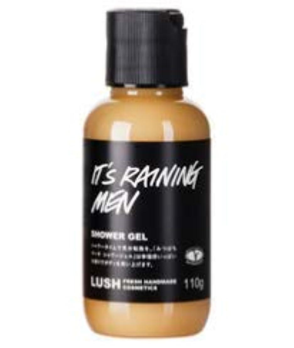 パネル追い払うシンボルLUSH ラッシュ みつばちマーチ シャワージェル It's Raining Men 甘い香り 浴用化粧品 ボディソープ 自然派化粧品 天然成分 ベルガモット ハチミツ (110g)
