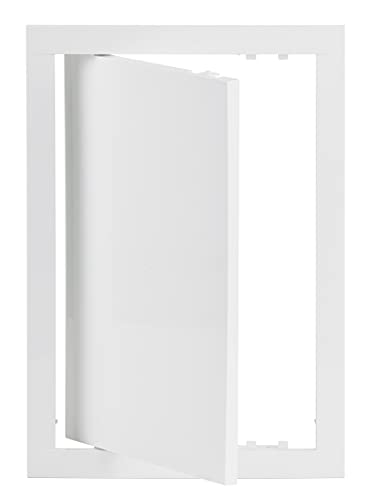 Sportello di ispezione 20 x 30 cm, bianco, sportello di ispezione in plastica, 200 x 300 mm