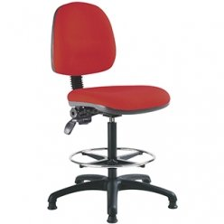 Bristol Maid Chair Office High Back Draughtsmand (120 kg) Te