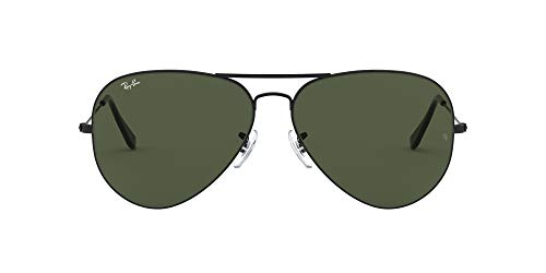 Ray-Ban Aviator 2 Gafas de Sol, Black, 62 para Hombre