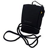 Fujifilm Padded Sporty Soft Neoprene Digital Carrying Camera Case with Clip & Lanyard Style Strap for FinePix AX550, AX655, T550/T560, T500/T510, XP50, XP60, XP70, XP75, XP80 & Z90 Digital Cameras