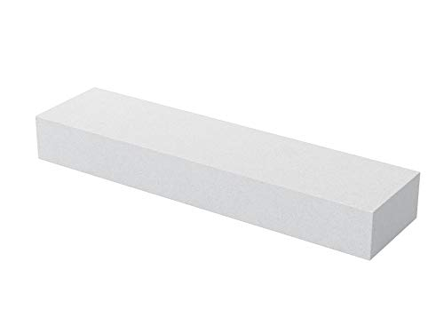 Bon Tool 14-831 8-Inch by 2-Inch by 1-Inch 60 Grit Aluminum Oxide Tile Setters Stone and Rub Brick, White