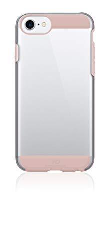 WHITE DIAMONDS - Innocence Clear Case Hülle für Apple iPhone 7 | transparent, durchsichtig, robust (Rose Gold)