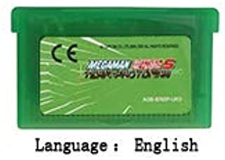 32 Bit Handheld Console Video Game Cartridge Card Megaman Battle Network 5 Team Protoman English Language Eu Version Green shell