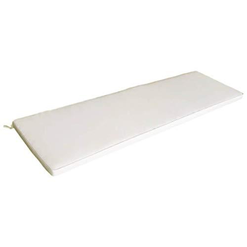 Cuscino lungo 110x45cm ecrù sfoderabile impermeabile lettino esterno CU805661