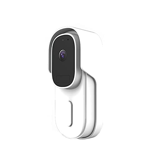 YUTAO Timbre de videoportero inalámbrico con monitoreo Remoto de Alta definición WiFi con Capacidad de Video, Timbre Inteligente inalámbrico 1080P, detección de Movimiento PIR, Audio de 2 Canales