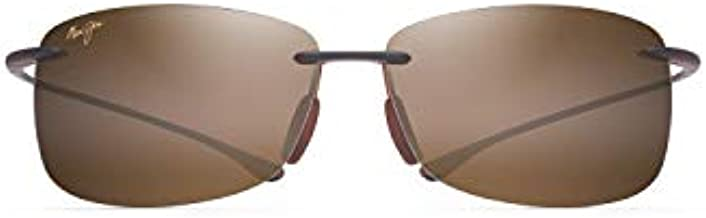 Maui Jim Akau w/Patented PolarizedPlus2 Lenses Sport Sunglasses, Rootbeer Matte/Hcl Bronze Polarized, Medium