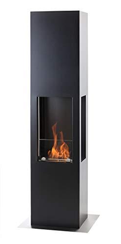 Muenkel ontwerp Prism Fire L [bio-ethanol haard 3-zijdig zicht]: zwart