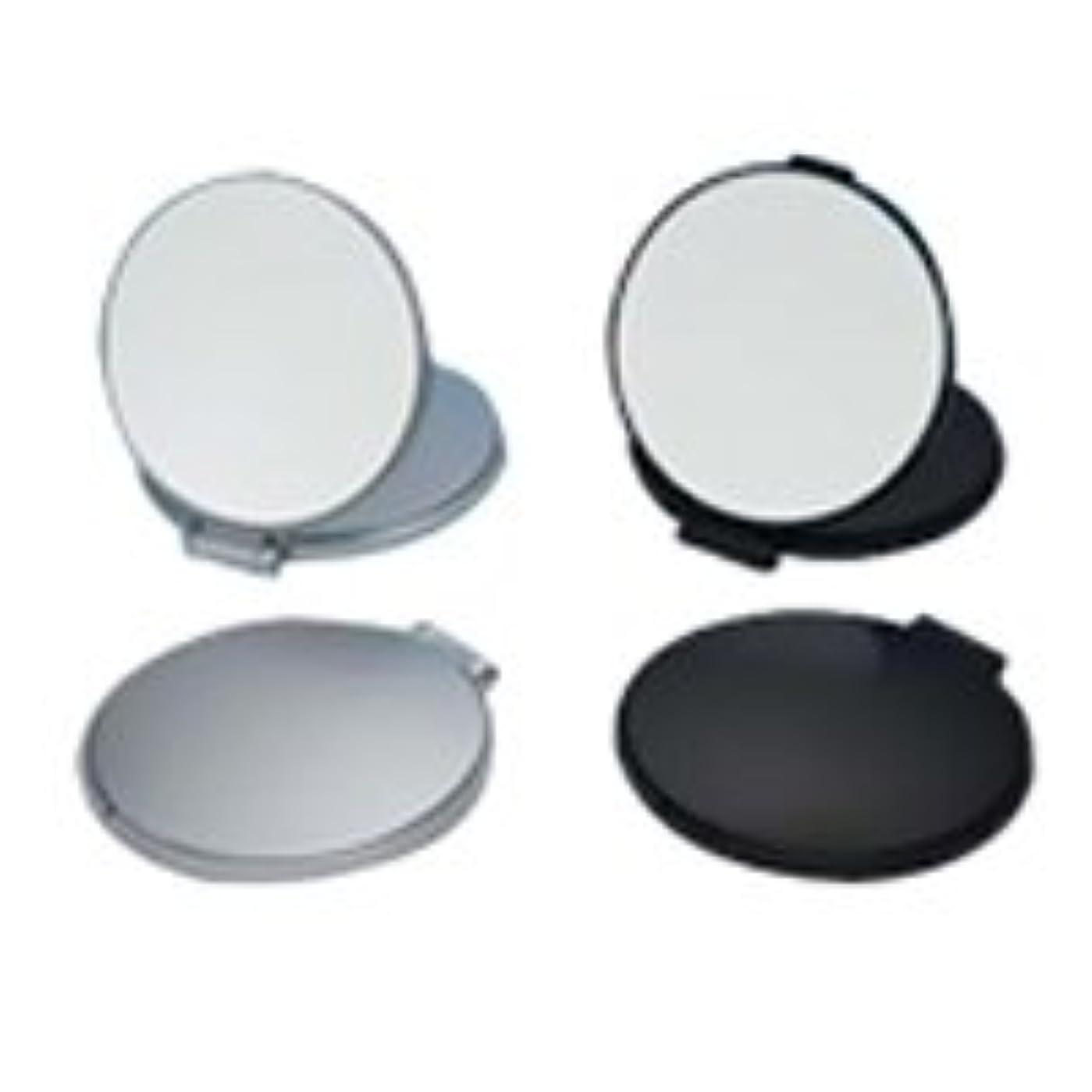 エンドテーブル滝一口コンパクトミラー 拡大鏡 メイク 拡大ミラー ナピュアミラー 鏡 リアルズームアップ プラス 両面 3倍 RC-03 堀内鏡工業※このページは「シルバー」のみの販売です◆シルバー