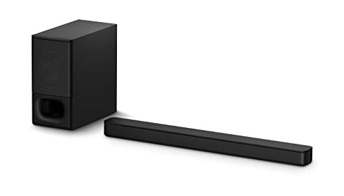 Sony HT-S350 2.1Ch Soundbar with Wireless Subwoofer (Dolby Audio,Bluetooth Connectivity, Wireless Connectivity...