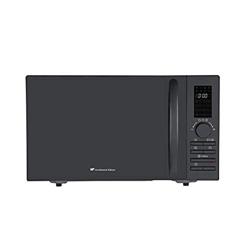CONTINENTAL EDISON MO23GB - Parrilla para microondas (23 L, 800 W, 1000 W), color negro
