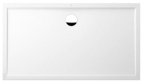 Villeroy en Boch douchebak rechthoek Futurion 180x90x2,5cm, wit - UDQ1890FFL2V-01