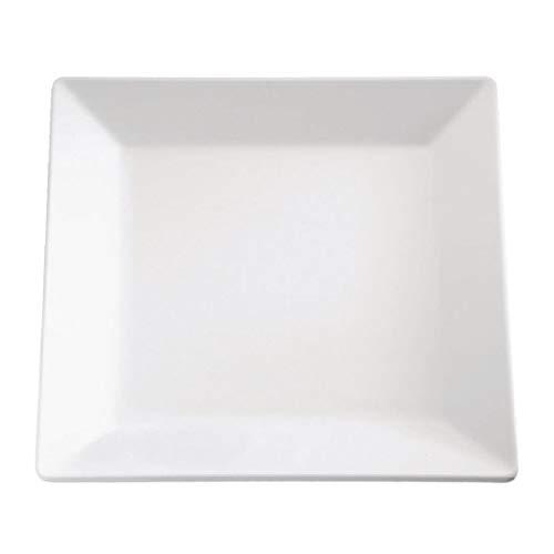 Gf170 APS pur Mélamine Plateau carré, 17,8 cm