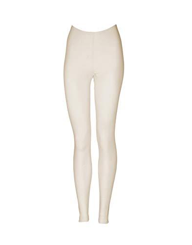 Dilling Merino Leggings für Damen - aus 100% Bio-Merinowolle Natur 38