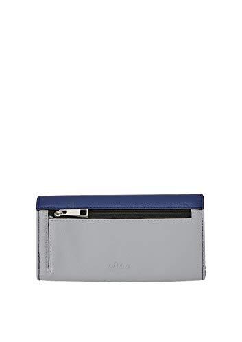 s.Oliver (Bags Damen Portemonnaie Geldbörse Grau (Light Grey)