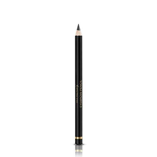 Max Factor Eyebrow Pencil Ebony 01 – 2-in-1 Augenbrauenstift mit Bürste – Augenbrauen nachziehen leicht gemacht – Farbe Braun – 1 x 1 g