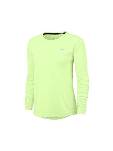 Nike W Miler Top LS - Camiseta de running para mujer de...