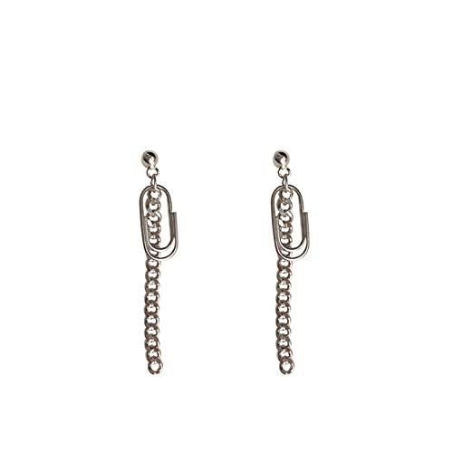 Pendientes Mujer Verano Diseño Atmósfera Personalidad Cadena Larga Pin Pendientes