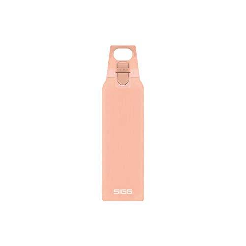 SIGG Hot&Cold Trinkflasche mit Teefilter 0.5L 26.5 cm Shy pink