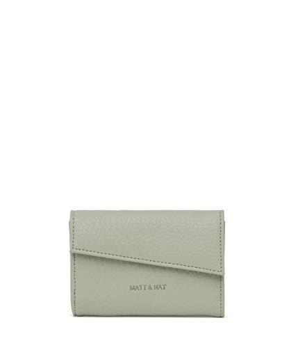Matt & Nat Vegane Handtaschen, Tani – 100% tier- und tierversuchsfreie Brieftasche, 100% recyceltes Futter, umweltfreundlich, Grn (Mojito), Small