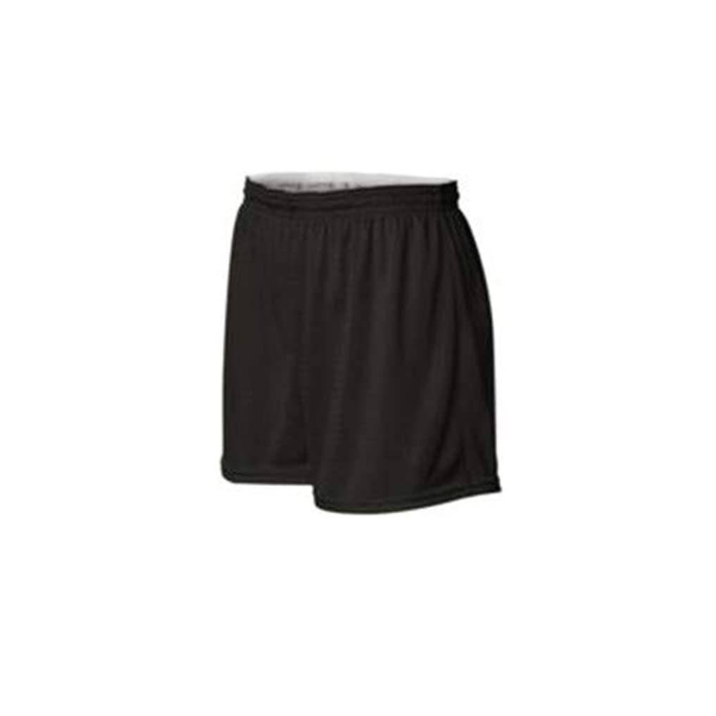 晩ごはん除外するやるChampion Women's Active Mesh Shorts, Black, X-Large
