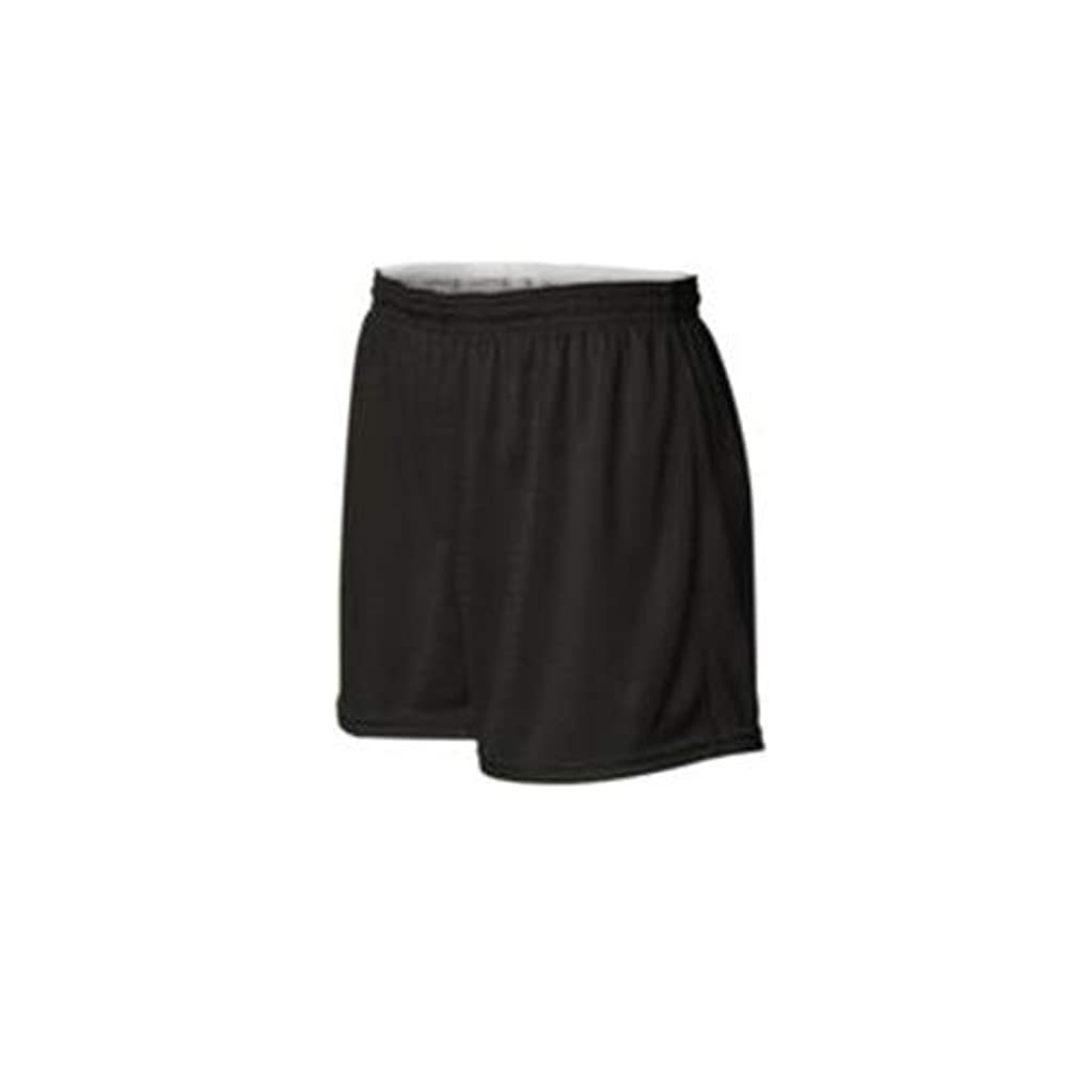 情報摂氏度注入Champion Women's Active Mesh Shorts, Black, Small