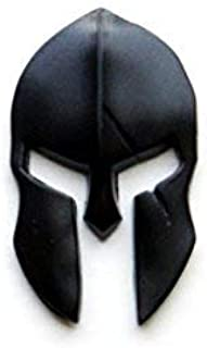 Tactical Freedom - Magwell Metal Decal/Sticker - Molon Labe Spartan Helmet with Scar (2 Pack)