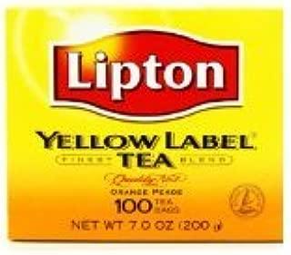 New Lipton Tea Bags 100ct (New Lipton Yellow Label Tea Bags 100 Tea Bags)