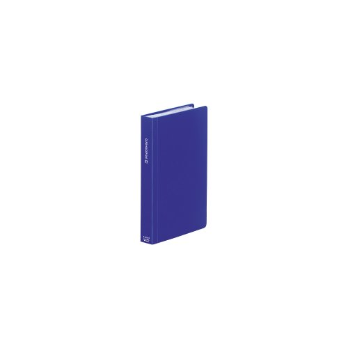 リヒトラブ カードホルダー 240枚 タテ 藍 A4103-8