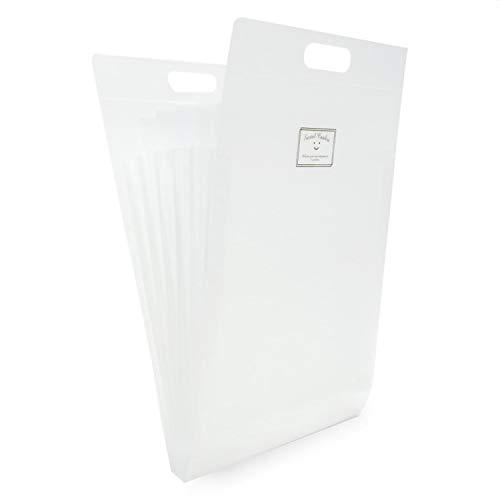 ドキュメントファイル A4 ファイルバッグ 大容量 多機能 書類ケース 分類収納 持ち運び 撥水 書類/ファイル/伝票収納 事務用品 学校 オフィス ラベル (ホワイト)