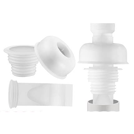 OBOYGANGNQE Desodorante de tubo de drenaje de cocina Anillo de sellado Tapón de fregadero Lavadora Tubo de drenaje de silicona Manga de drenaje de piso sellado tapón de drenaje de 40 mm 50 mm