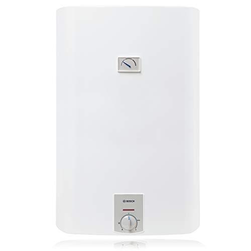 Bosch Scaldabagno Elettrico Tronic 3500 T 100L, bianco, per installazione verticale a parete [Classe Energetica C]