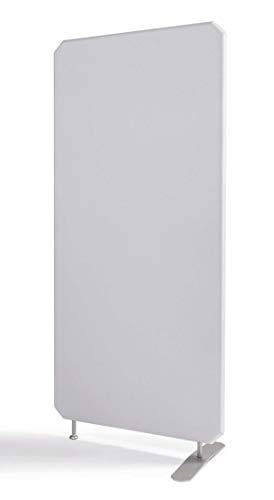 Oktagon Akustik Stellwand - System, Schallschutz - Trennwand, Akustikwand schallabsorbierend, geprüft nach DIN EN ISO 354, Paneel - Größe: 1400 H x 800 B x 50 D (mm), Farbe: grau