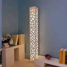ELINKUME Lámpara de pie LED regulable Blanco Nueva Actualización Función de Control...