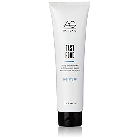 Beauty Shopping AG Hair Moisture Fast Food Leave On Conditioner, 6 Fl Oz