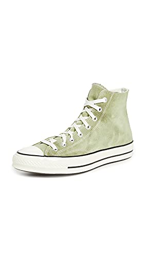 Converse Men's Chuck 70 Summer Daze Fade in Sneakers, Light Field Surplus/Egret, Green, 9.5 Medium US