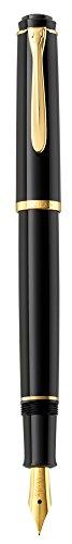 Pelikan P200 Pluma estilográfica de lujo linea Classic P200 plumín F mecanismo de cartucho - mango...