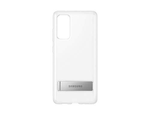 Samsung Clear Standing Cover Smartphone Cover EF-JG780 für Galaxy S20 FE Handy-Hülle, ausklappbarer Standfuß, Schutz Hülle, stoßfest, transparent - 6.5 Zoll