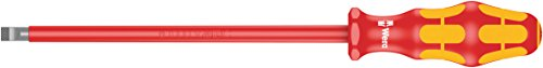 Wera 160 i VDE-isolierter Schlitz-Schraubendreher, 1.6 x 8.0 x 200 mm, 05006135001
