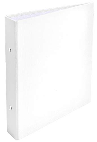 Brause 51078E raccoglitore ad anelli, formato DIN A5, bianco