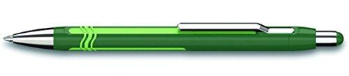 Schneider Epsilon Ballpoint Pen, Green/Light Green Barrel, Blue Ink, 1 Each (138604)