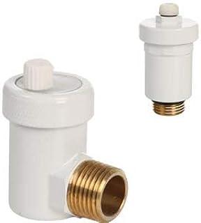 Válvula de purga rápida automática, diseño blanco, 1/2&#