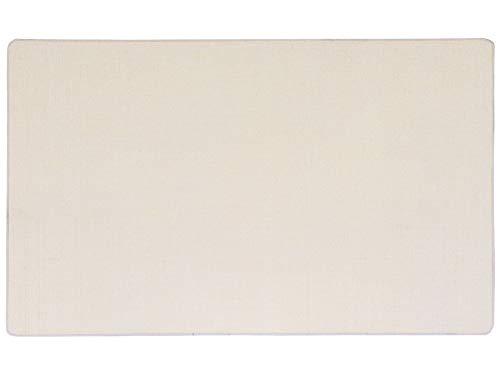 Primaflor - Ideen in Textil Natur Sisalteppich Sisallux – 40 x 60 cm, Creme, rutschfest ✓ Für Fußbodenheizung ✓ Sisalmatte als Teppich-Läufer, Brücke & Vorleger, Küchenläufer
