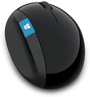 Microsoft L6V-00004 Back and Windows Button Wireless Sculpt 4-Way Scrolling Mouse