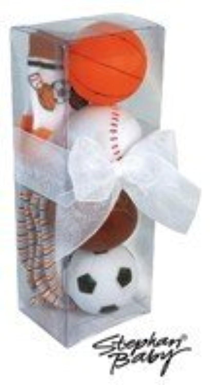 Sports-themed Bath Squirters [並行輸入品]